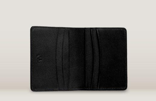 TOFFEE BILL WALLET BLACK