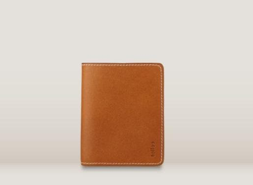 Toffee Bill Wallet Tan