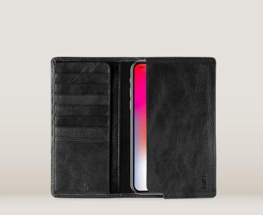 Toffee Sleeve Wallet Black - iPhone 6 7 8 Plus