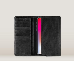 TOFFEE SLEEVE WALLET IPHONE BLACK