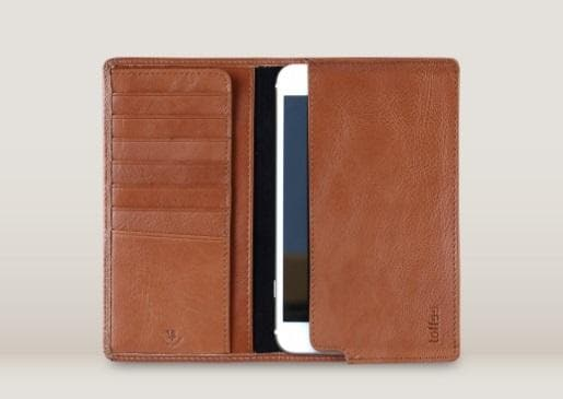 TOFFEE SLEEVE WALLET IPHONE 6 PLUS TAN