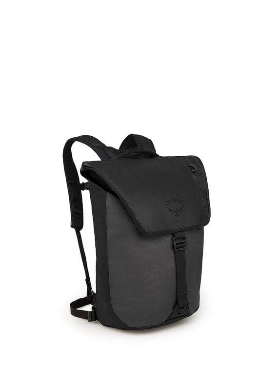 OSPREY TRANSPORTER FLAP PACK BLACK