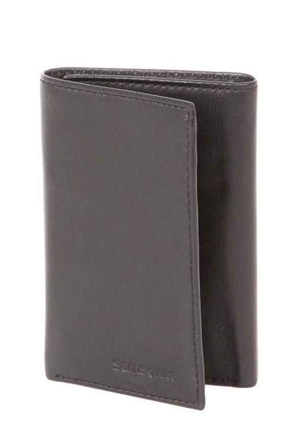 Samsonite Trifold Wallet Black