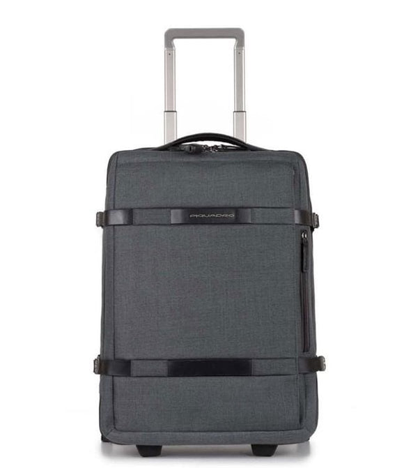 PIQUADRO MOVE 2 COLLECTION CABIN TROLLEY CASE GREY