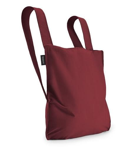 NOTABAG BAG AND BACKPACK WINE RED