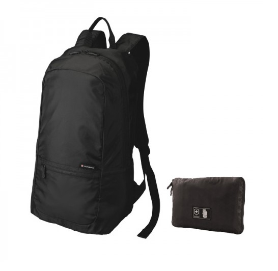VICTORINOX PACKABLE BACKPACK BLACK
