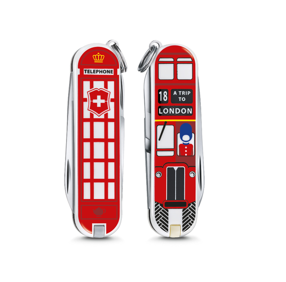 Victorinox Classic Limited Edition Small Pocket Knife A Trip to London