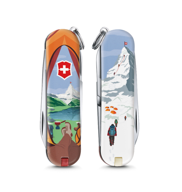 Victorinox Classic Limited Edition Small Pocket Knife Call of Nature