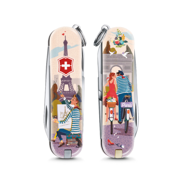 Victorinox Classic Limited Edition Small Pocket Knife The City of Love