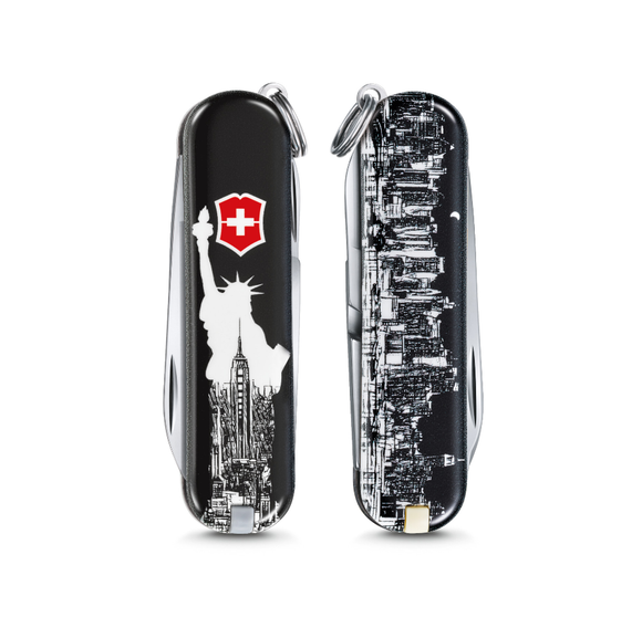 VICTORINOX CLASSIC LIMITED EDITION SMALL POCKET KNIFE NEW YORK