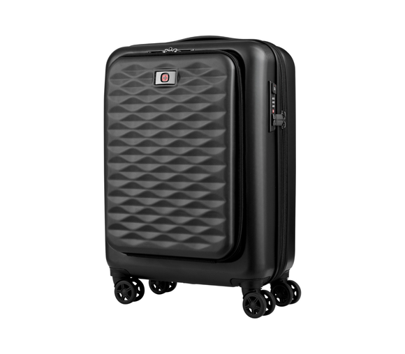 Wenger Lumen Expandable Dual Access Carry-On Black