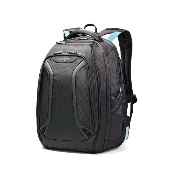 Samsonite VizAir Laptop Backpack Black/Electric Blue