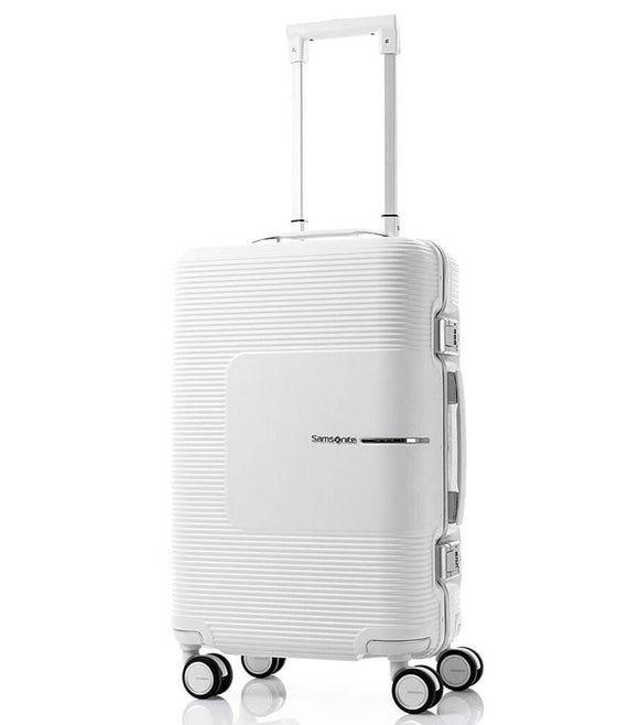 SAMSONITE TRI-TECH 55CM SPINNER MATTE WHITE