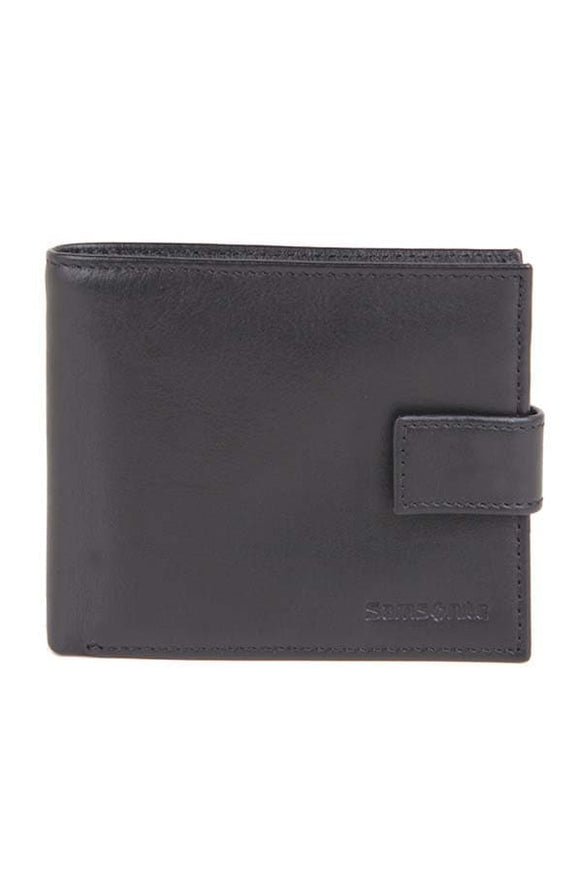 Samsonite Wallet with Coin Purse Black
