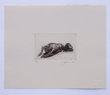 Load image into Gallery viewer, FORSAKEN - LIMITED EDITION INTAGLIO PRINT