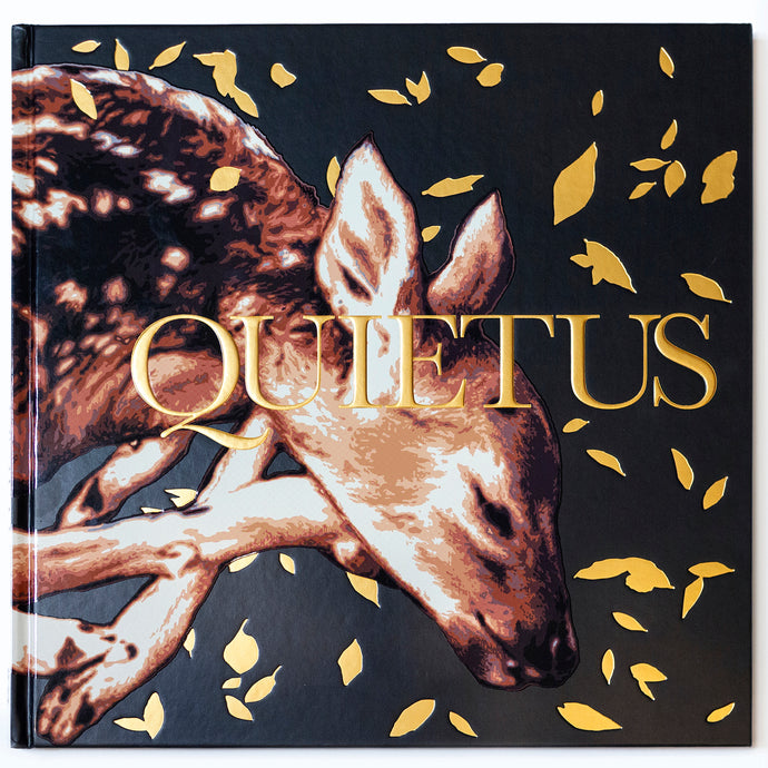 QUIETUS HARDBOUND BOOK