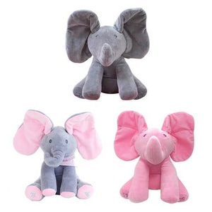 Peek-a-Boo Elephant Doll Toys Kids Gift Present Boys & Girls Birthday Gift