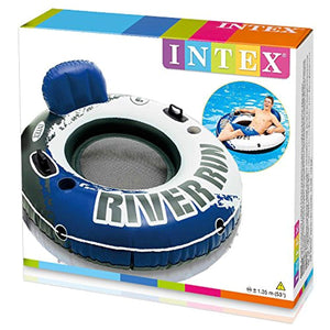 "River Run I Sport Lounge, Inflatable Water Float, 53"" Diameter"