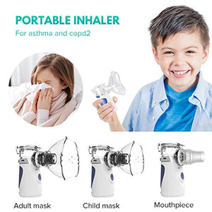 Portable Mini Vaporizers Machine Handheld Cool Mist Inhaler Kits for Adults Kids