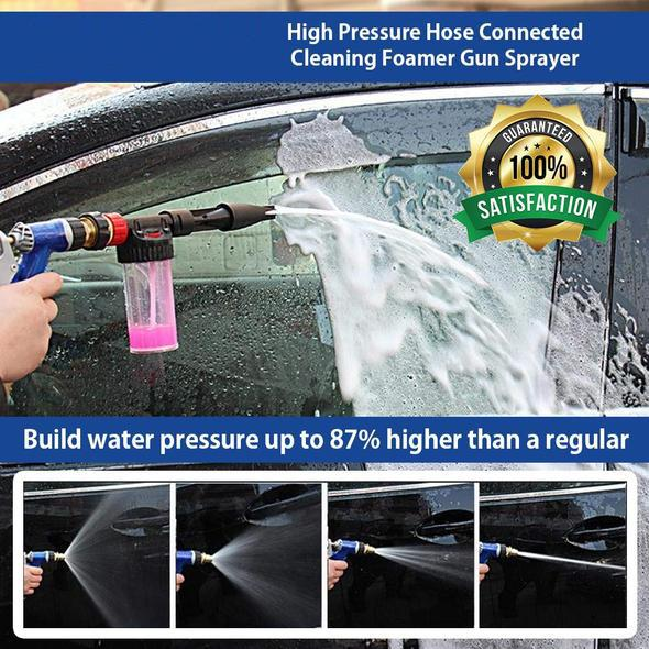 High Pressure Hose Connected Cleaning Foamer Gun Sprayer