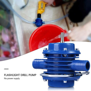 LuckyLife Premium Hand Drill Water Pump