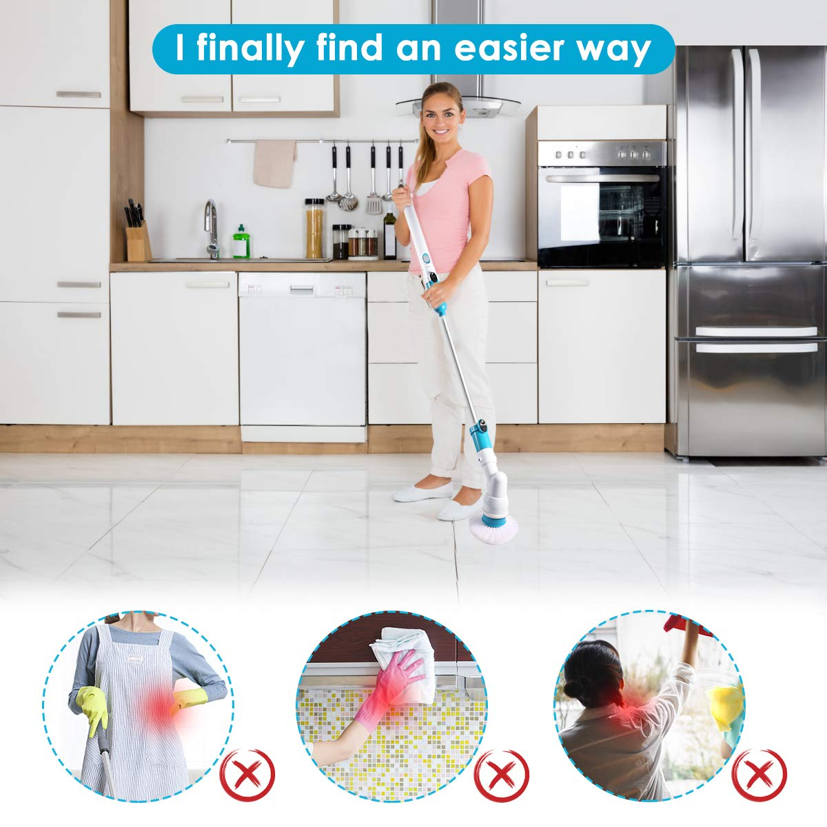 🔥Hot Sale🔥LuckyLife Multi-function Cleaning Brush