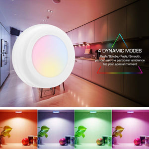 Colour-changing remote-controlled LED wireless-Buy more save more