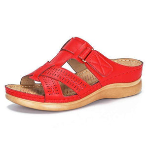 Summer Ladies Open Toe Hook Loop Sandals