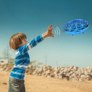 【75% OFF !!!】Hand Flying UFO Helicopter Toy Manual Intelligent Induction Drone