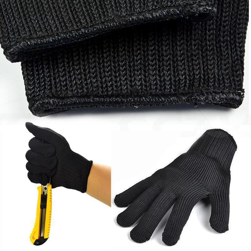 Ultra Cut Resistant Stainless Steel Wire Gloves - 100% Safety
