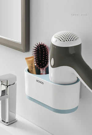 Multi-Function Hair Dryer Holding Storage Organizer