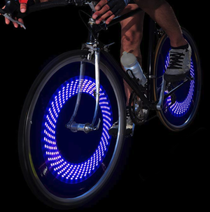 Waterproof Bike Color Changing LED Wheel Lights