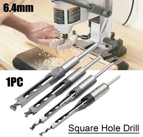 LuckyLife Mortiser Square Drill Bit