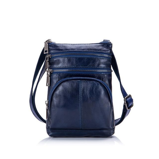 Unique Design Genuine Leather Women Messenger Bags Casual Natural Cowskin Shoulder Crossbody Bag Small Lovely Fashion Women Bag