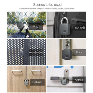 Z-ONE Anti-Theft Keyless Fingerprint Padlock