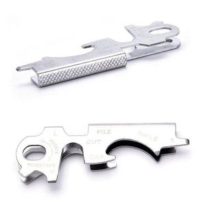9-in-1 Stainless Steel Survival Gear