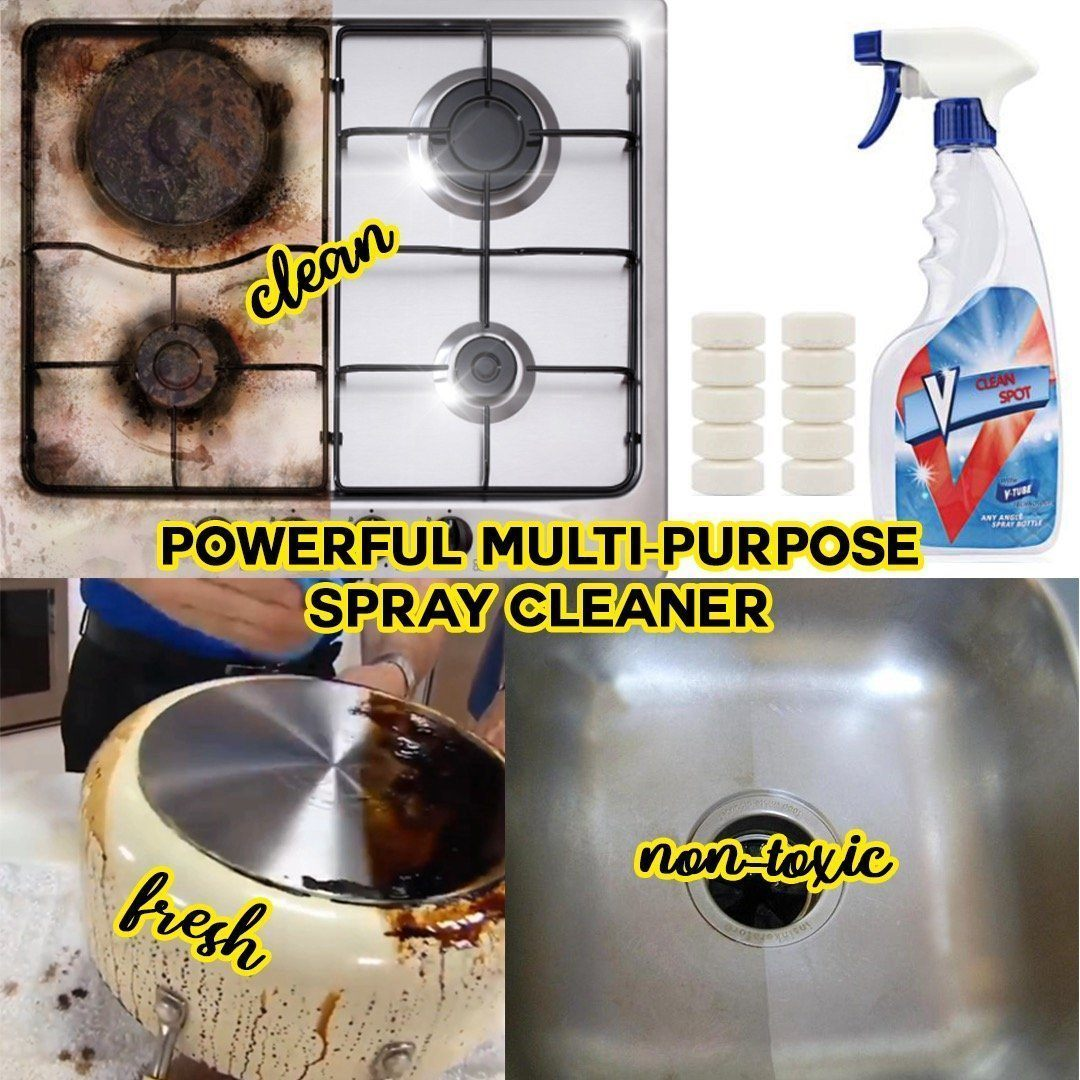 Multi-functional Spray Cleaner (Formulated in USA)