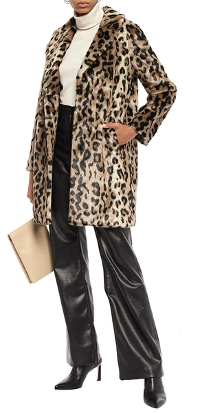 (Arriving Soon!) Gisela Faux Fur - Panther