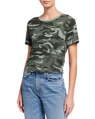 Babe Tee - Surplus Camo