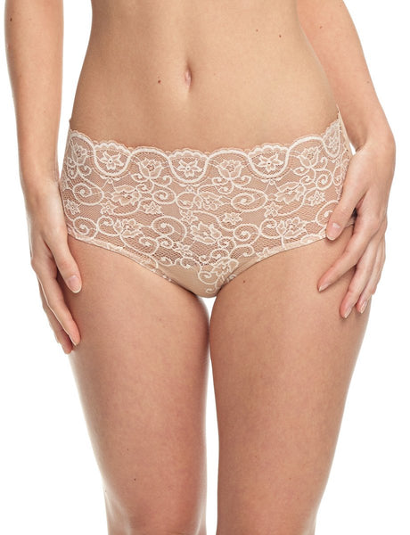Double Take Lace Bikini -Ivory