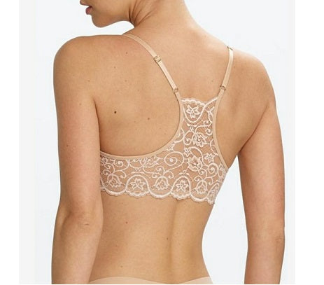 Double Take Lace Racerback - Ivory