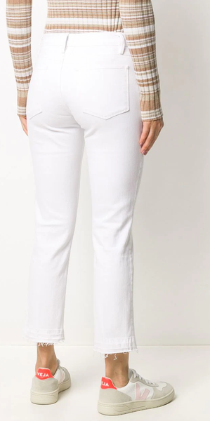 High Straight Release Hem - Blanc