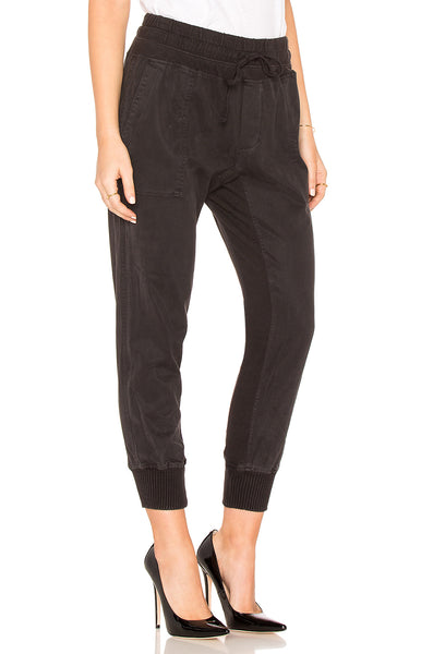 Mixed Media Pant - Black