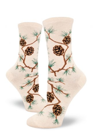 Pinecone Crew Heather Cream