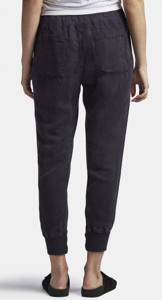 Relax Canvas Linen Pant - French Navy