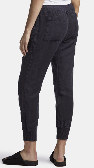 Relax Canvas Linen Pant F.Navy