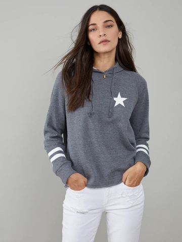 Star & Stripes Hoodie  DH Grey