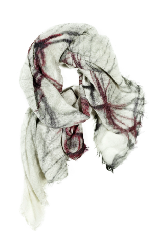 Wool/Modal Scarf - Whisper