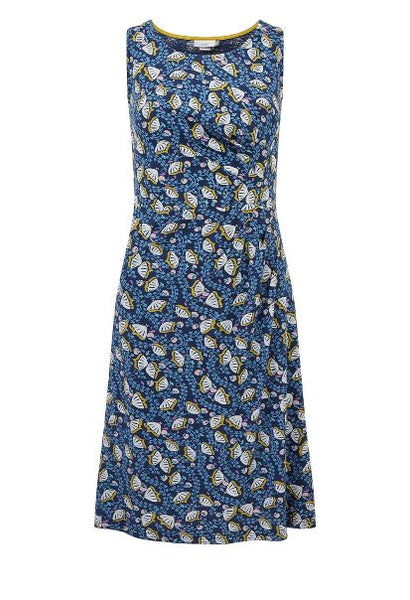 Adini Colette dress in blue