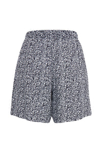 ICHI Marrakech shorts blue and white